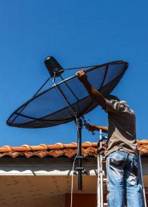 installazione di antenna tv