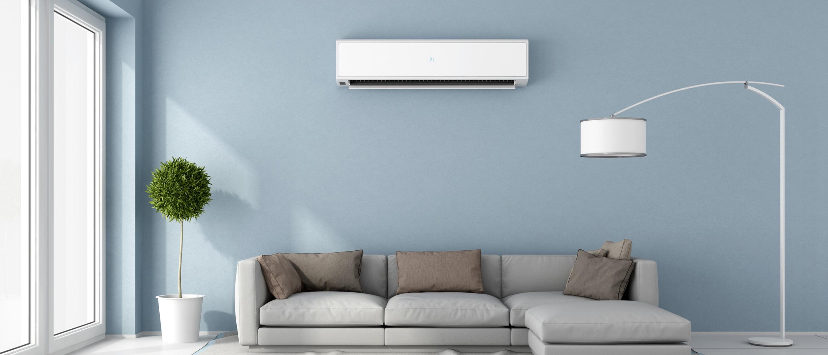 climatizzatore in soggiorno