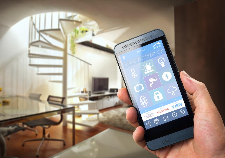 domotica casa cellulare