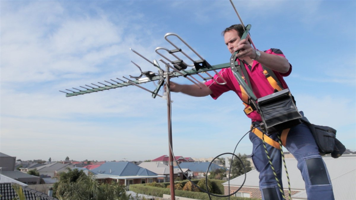 installazione antenna tv
