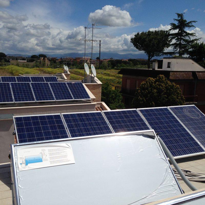 serie di impianti fotovoltaici