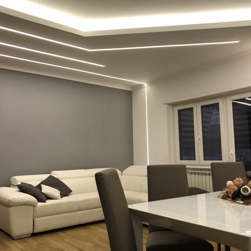 soggiorno ristrutturato