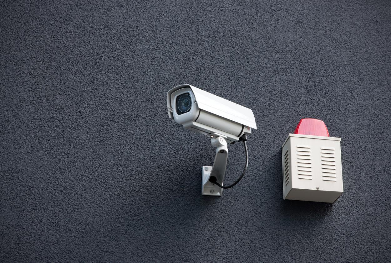 telecamera e allarme